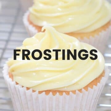 Frostings and decorations recipes