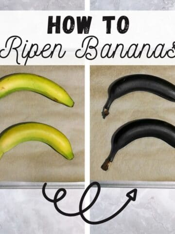 how to ripen bananas quickly from unripe green bananas to brown ripe bananas