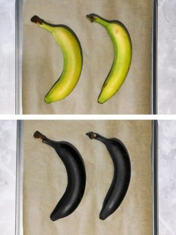 How to quickly ripen bananas at home before and after